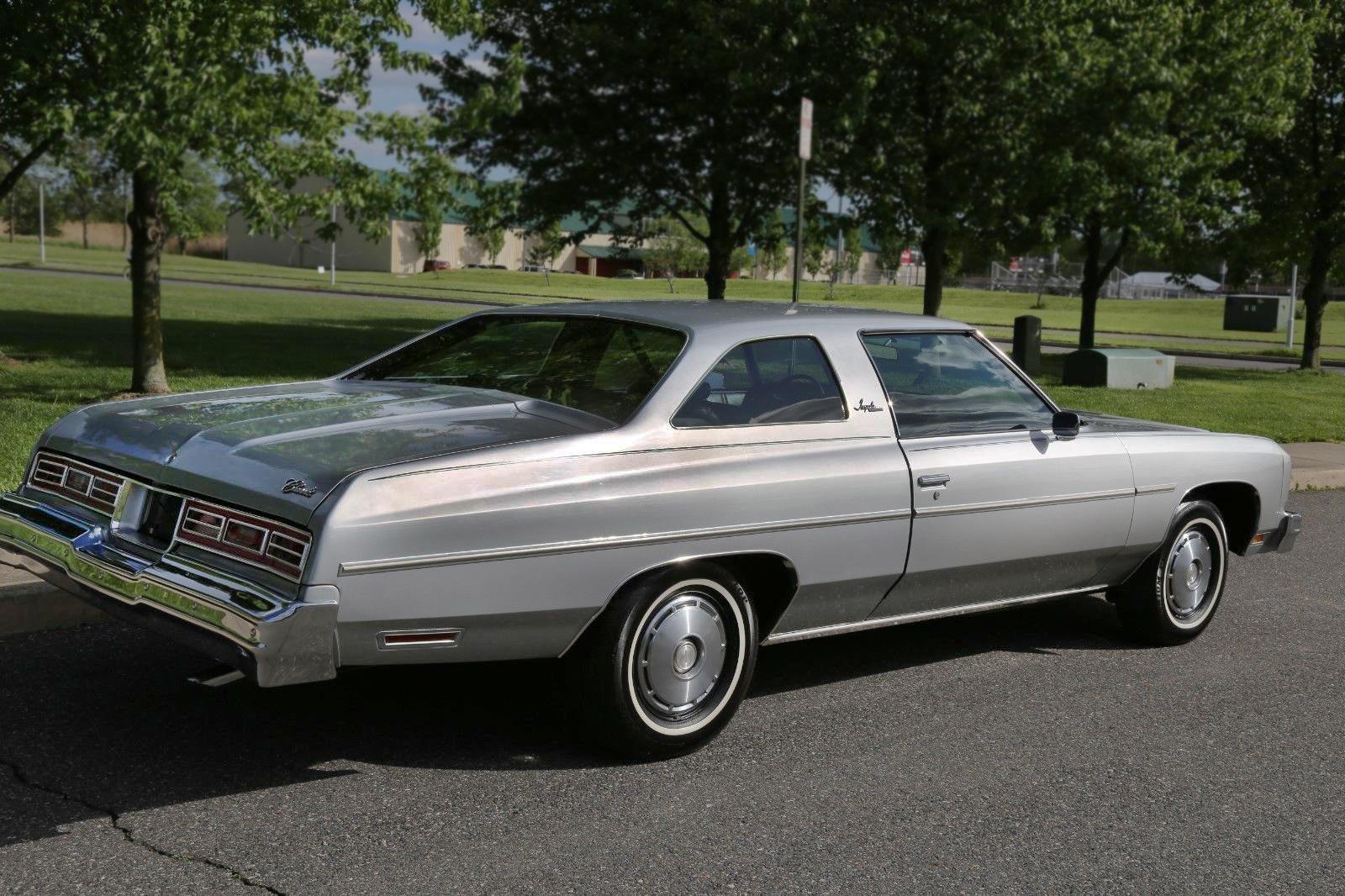 Used 2014 Chevy Impala >> 14,534 Miles! 1976 Chevrolet Impala