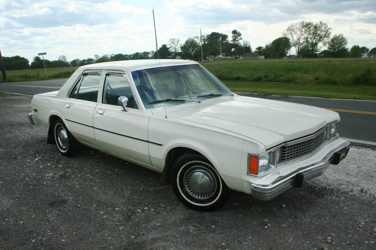 Police Cars For Sale >> 18,000 Miles! 1980 Plymouth Volare