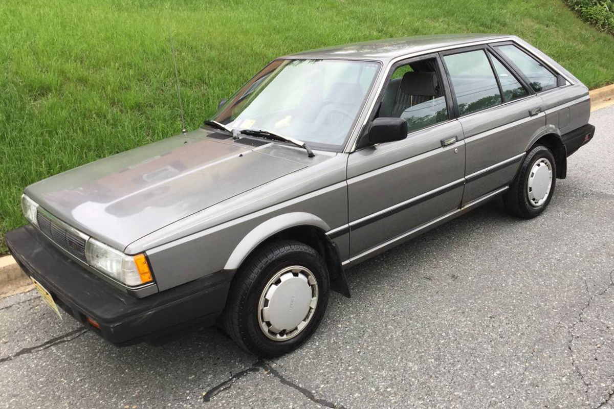 $2,500 4WD: 1987 Nissan Sentra XE 4WD Wagon