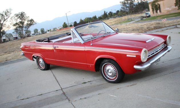 Rad Red Ragtop: 1964 Dodge Dart 270