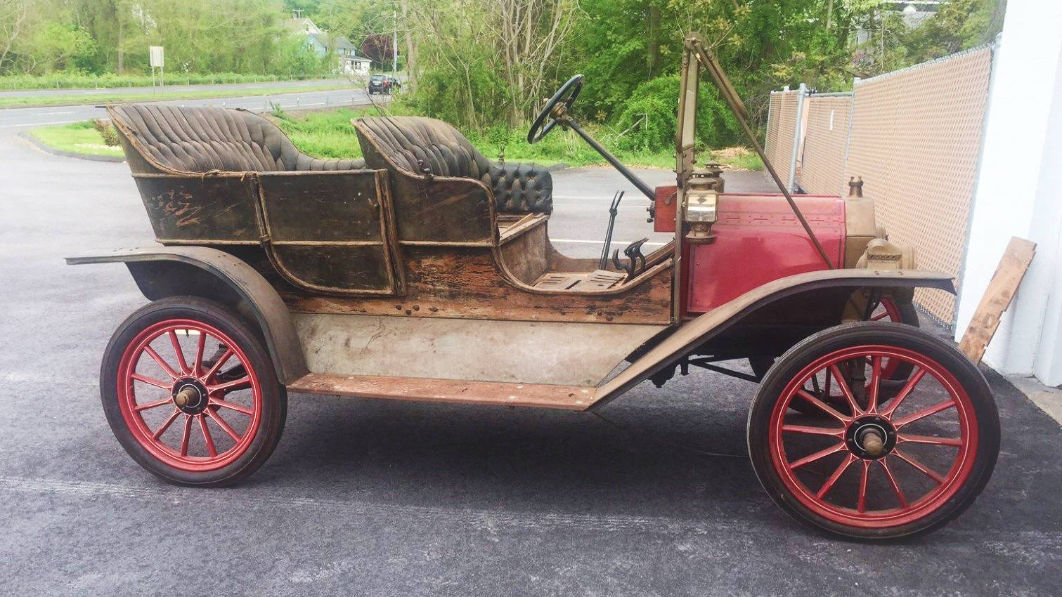 Expensive Tin: 1909 Ford Model T Touring