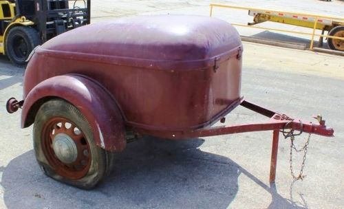 Storage Trailers For Sale >> Two Owners In 81 Years: 1936 Mullins Red Cap