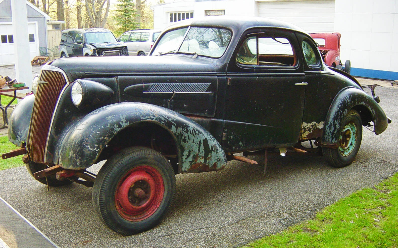 Real Deal Gasser 1937 Chevy Coupe