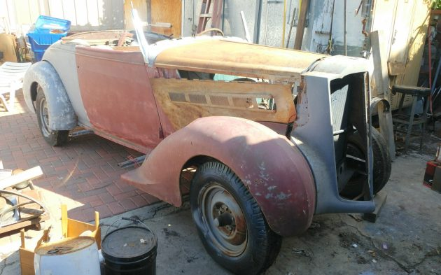 EXCLUSIVE: 1937 Packard Roadster Project