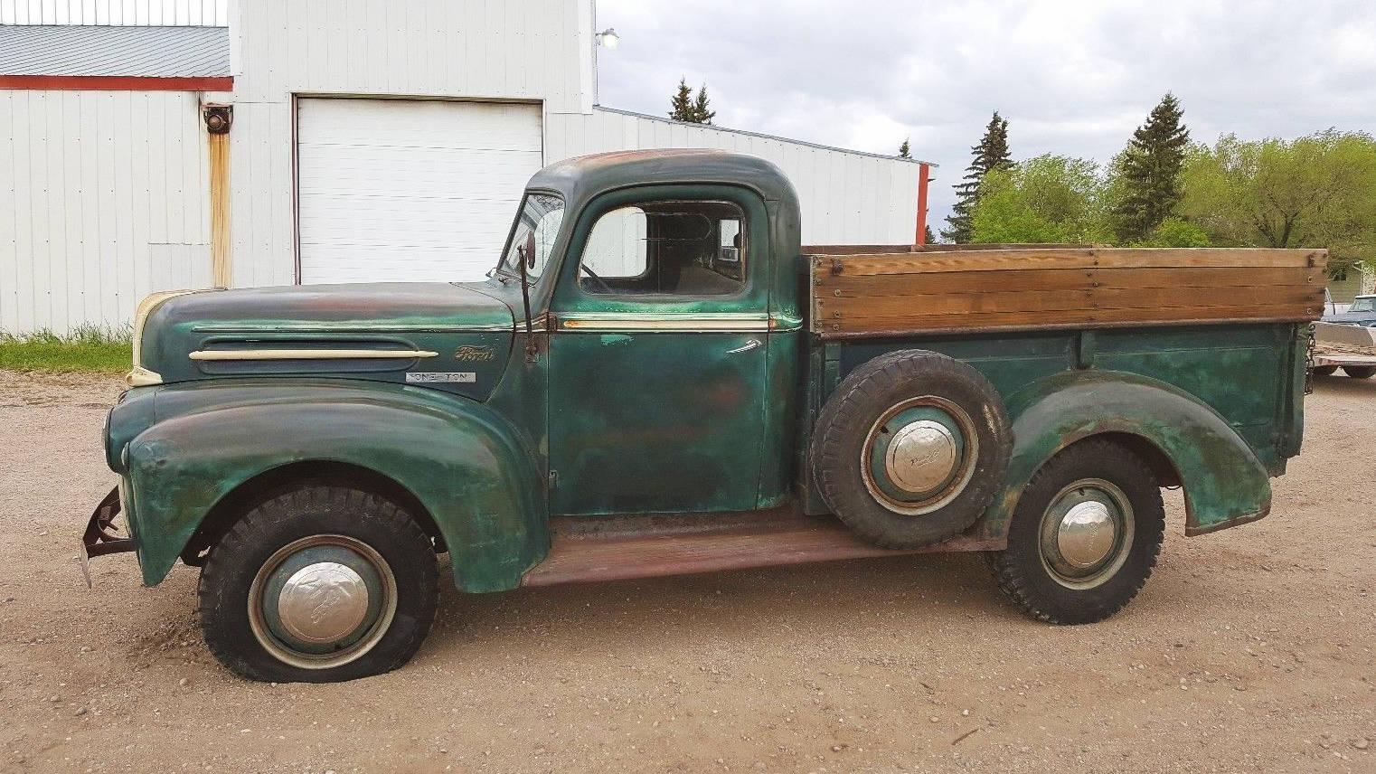 north dakota survivor 1946 ford one ton truck. Black Bedroom Furniture Sets. Home Design Ideas