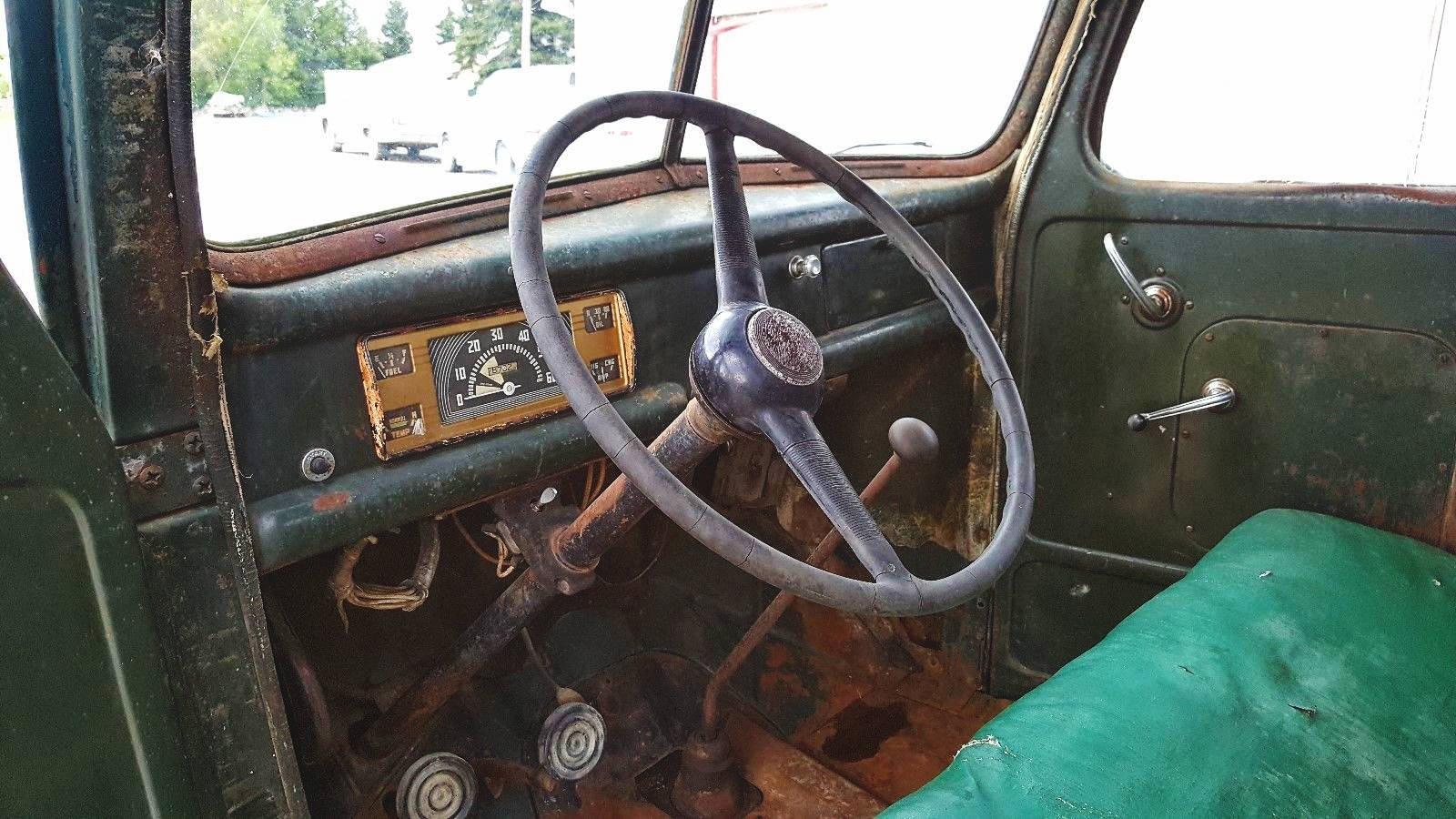 North Dakota Survivor: 1946 Ford One Ton Truck