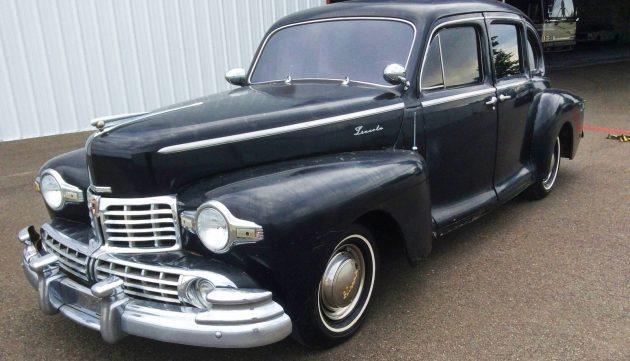 EXCLUSIVE: 1948 Lincoln Zephyr V12 Sedan