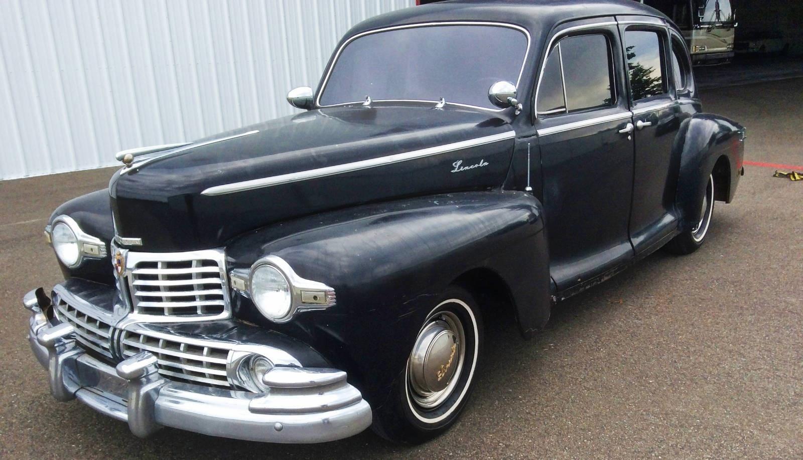 How To Buff A Car >> EXCLUSIVE: 1948 Lincoln Zephyr V12 Sedan