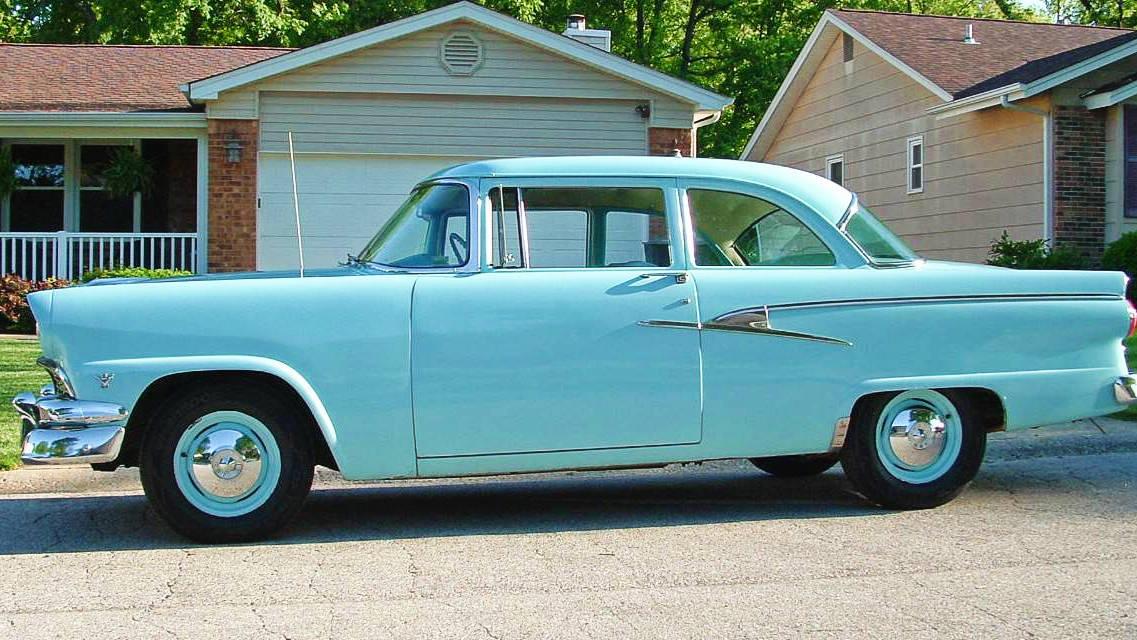 Basicly Basic 1956 Ford Fairlane Mainline