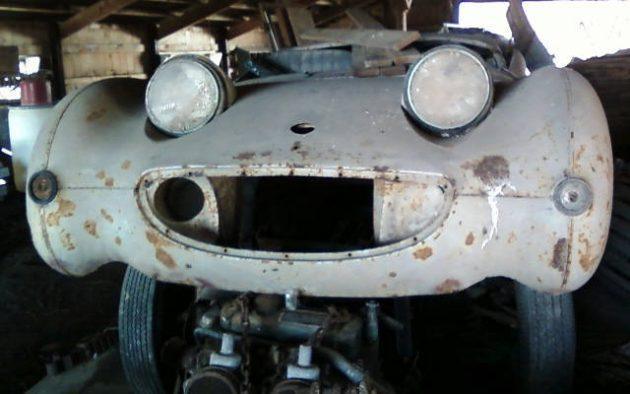 EXCLUSIVE: 1960 Austin Healey Sprite