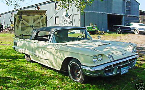 EXCLUSIVE: 1960 Ford Thunderbird Project