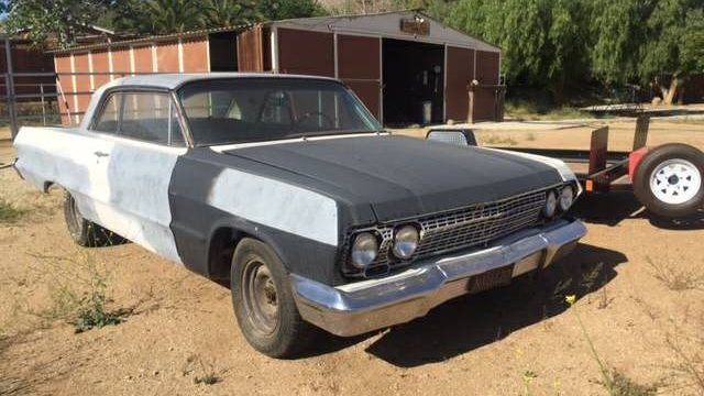 Craigslist Classifieds Los Angeles >> 425HP V8 + 4 Speed: 1963 Chevy Impala 409
