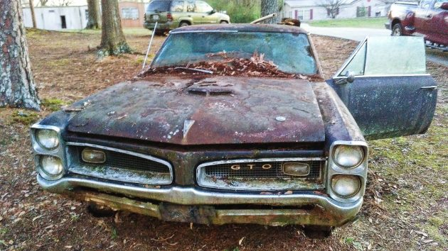 EXCLUSIVE: 1966 Pontiac GTO For $1,500!
