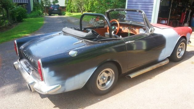 EXCLUSIVE: 1966 Sunbeam Alpine V6 Swap