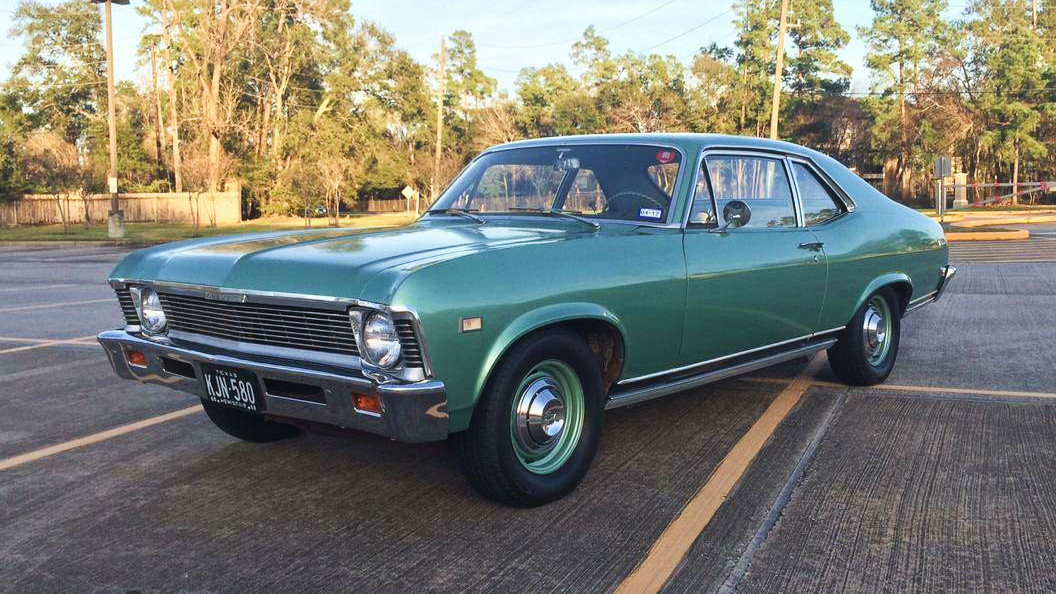 Only 5700 Miles 1968 Chevy Nova