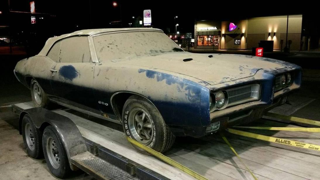 Late Night Run 1969 Pontiac Gto Convertible