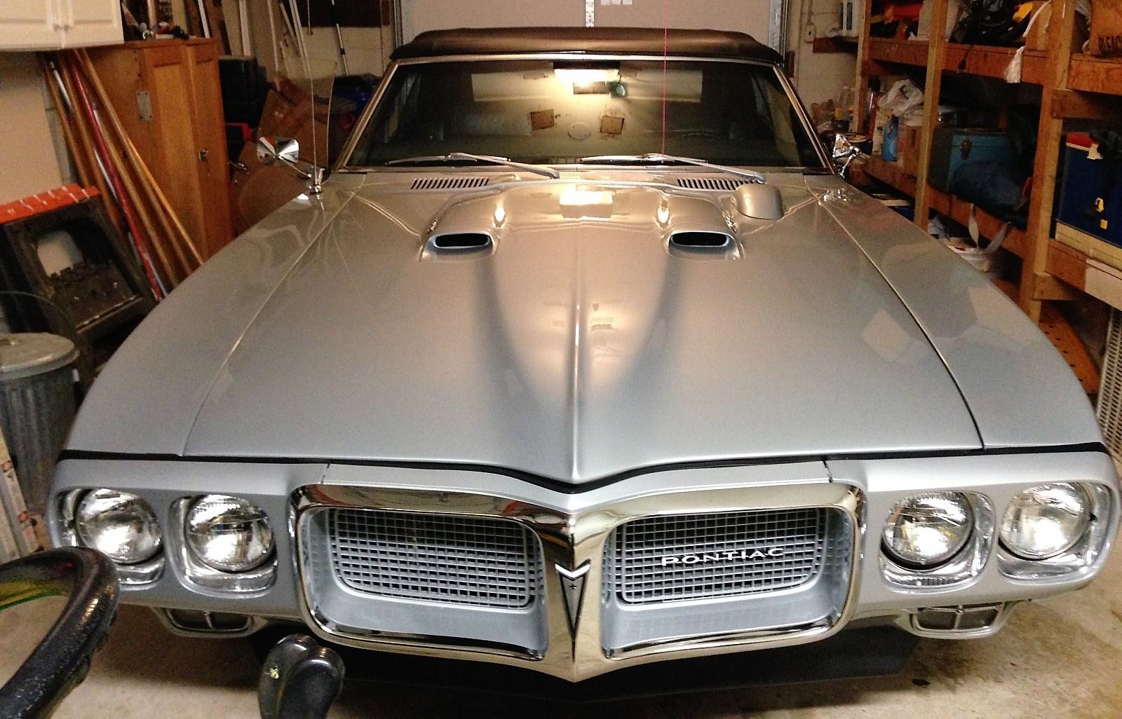 Front Windshield Replacement >> EXCLUSIVE: 1969 Pontiac Firebird 400