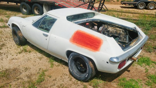 exclusive 1970 lotus europa project. Black Bedroom Furniture Sets. Home Design Ideas