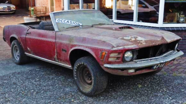 Awd Cars For Sale >> Factory Built 4x4: 1970 Mustang FF Convertible