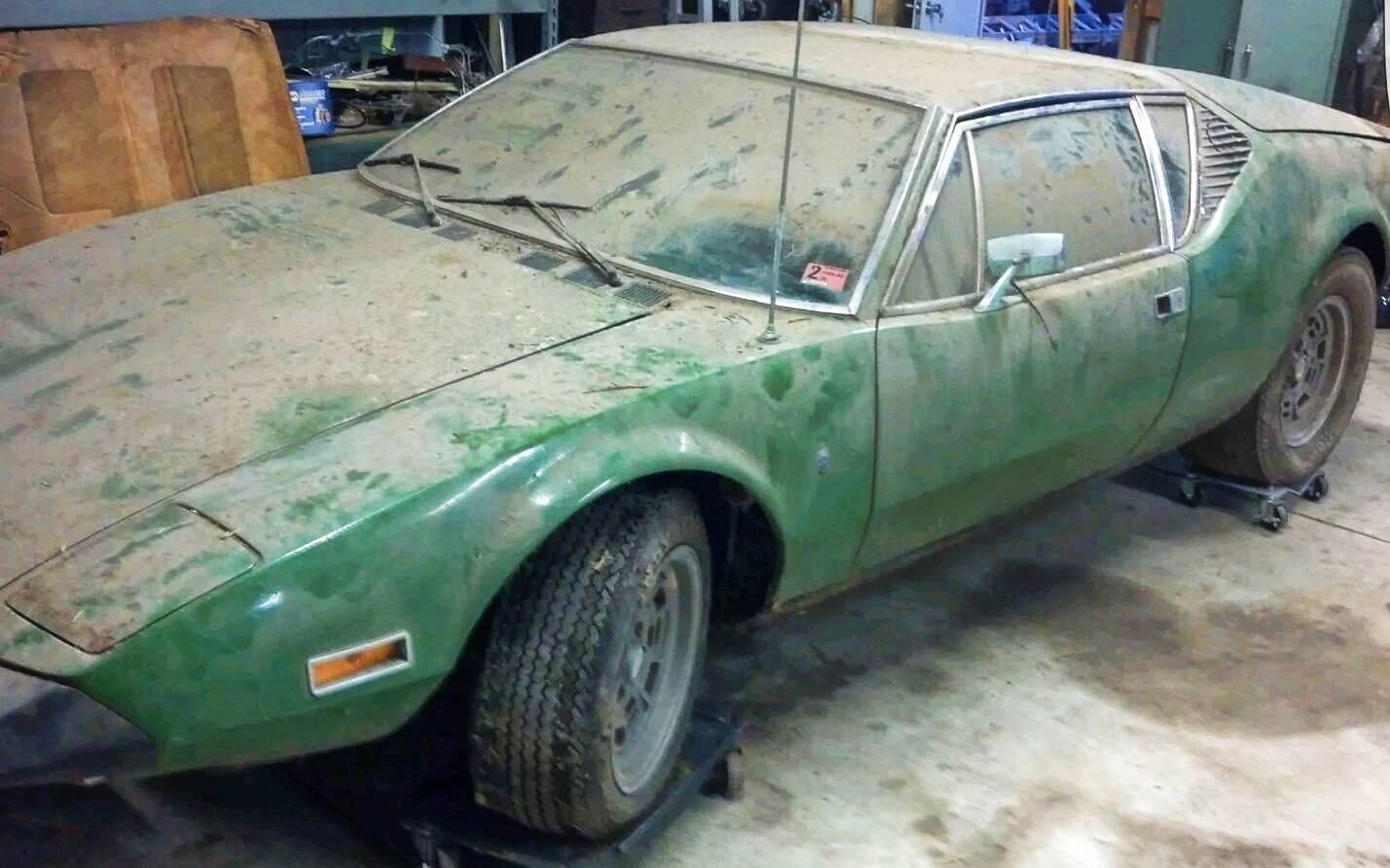 Pantera Car For Sale >> Dusty 1973 De Tomaso Pantera!