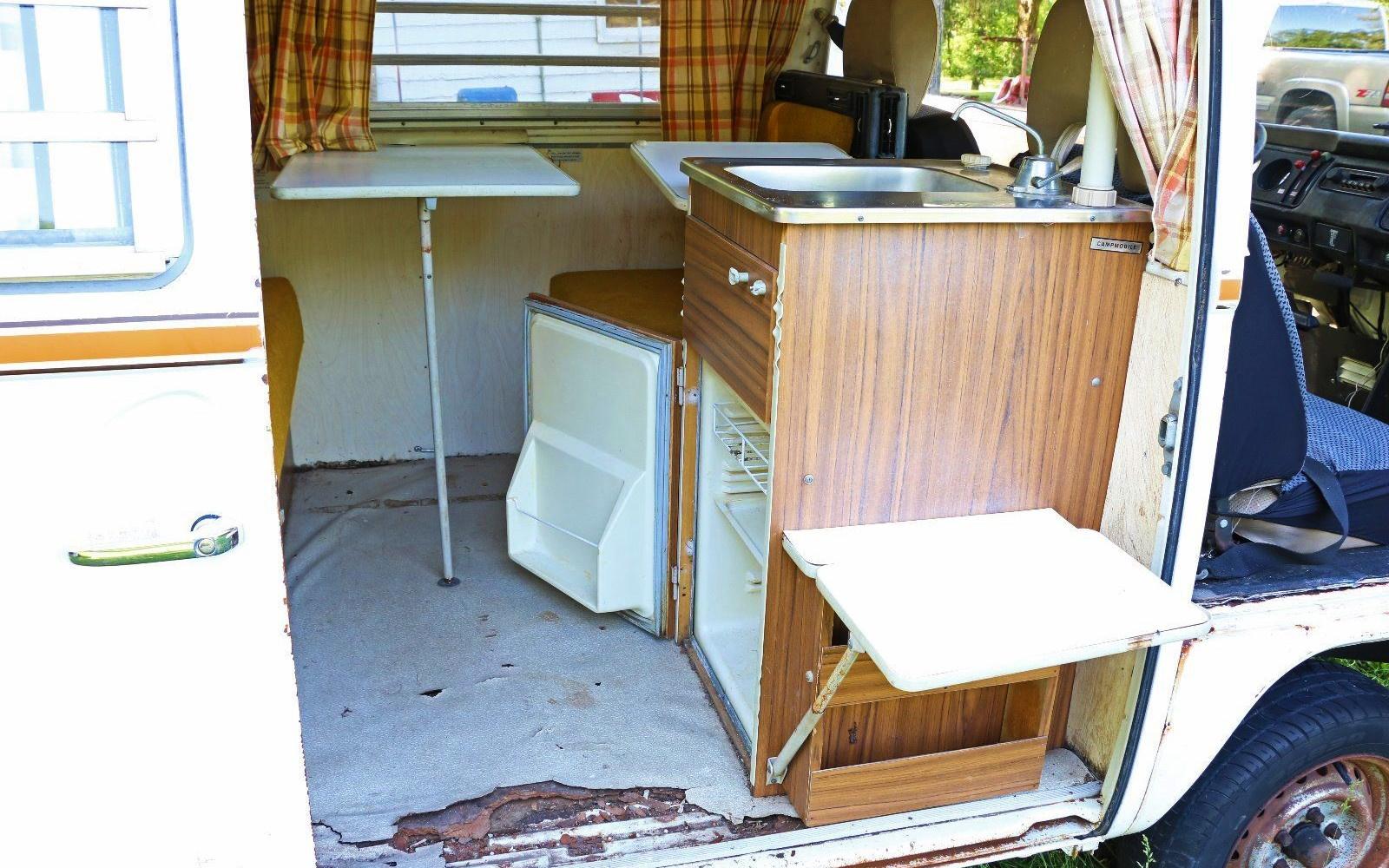 Campmobile In The Barn 1973 Vw Westfalia