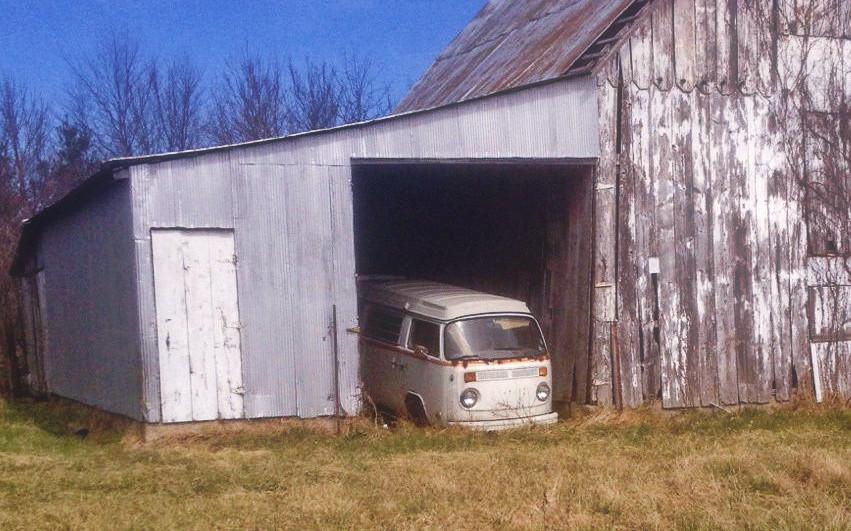 Campmobile In The Barn: 1973 VW Westfalia