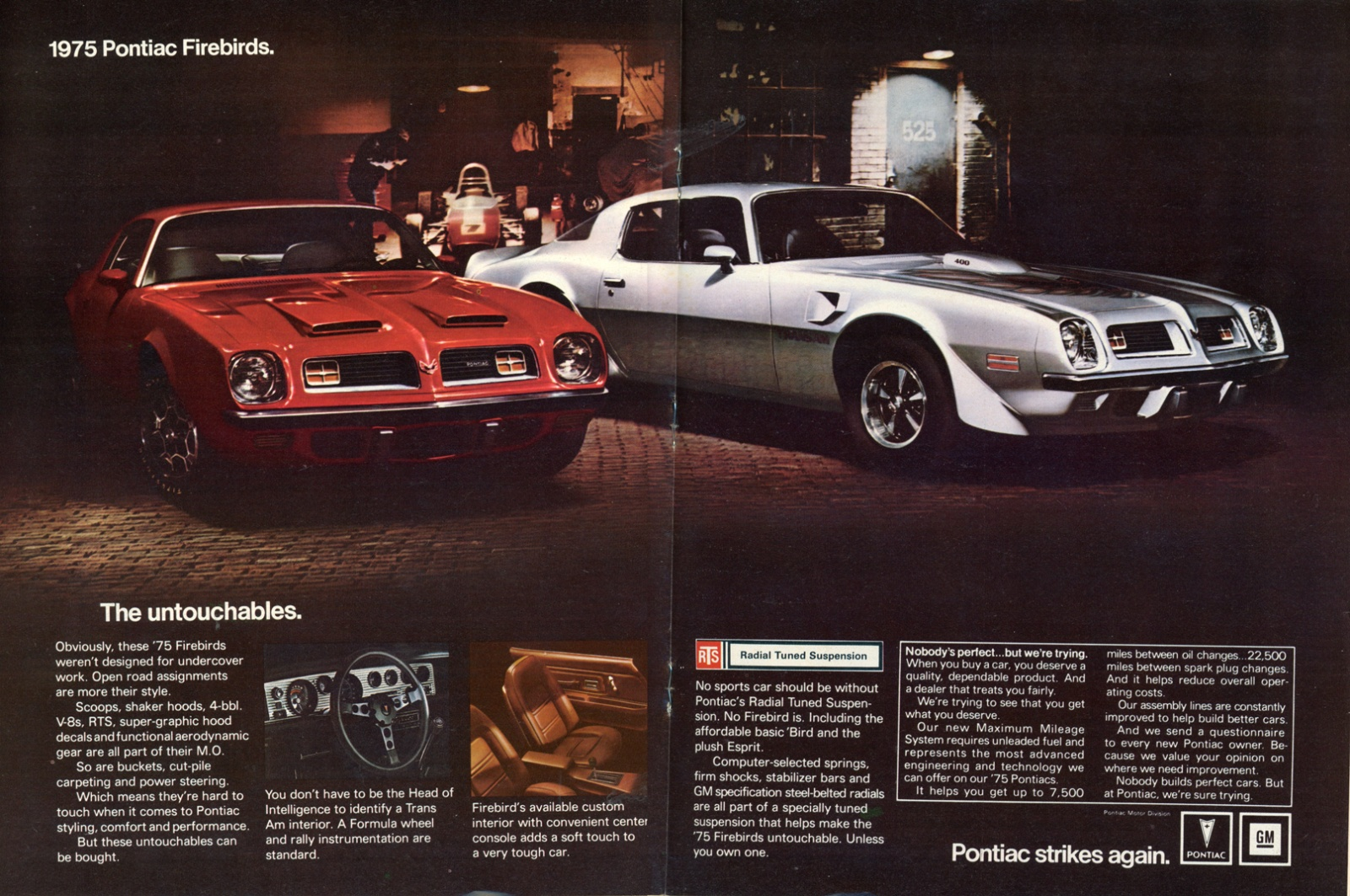 Magic Formula 1975 Pontiac Firebird Trans Am Heres A Scan Of Ad From