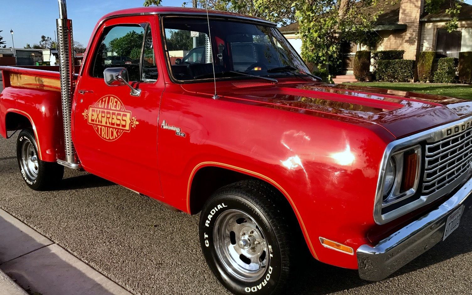 muscle truck 1978 dodge lil 39 red express. Cars Review. Best American Auto & Cars Review