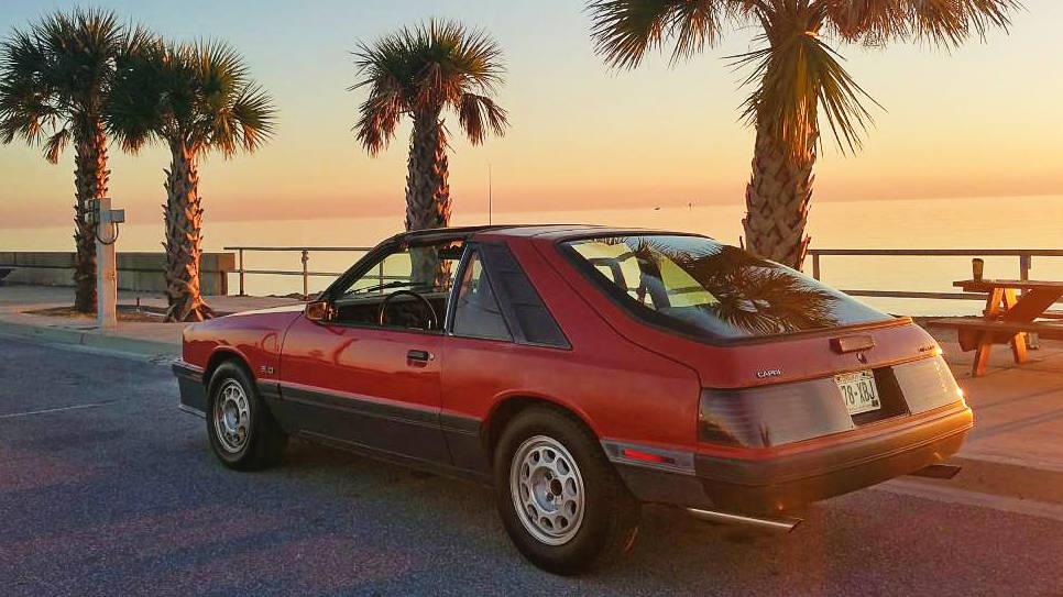 To The Gulf And Back: 1986 Mercury Capri 5.0