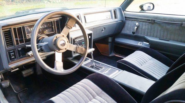 Too original to drive 1987 buick grand national - 1987 buick grand national interior ...