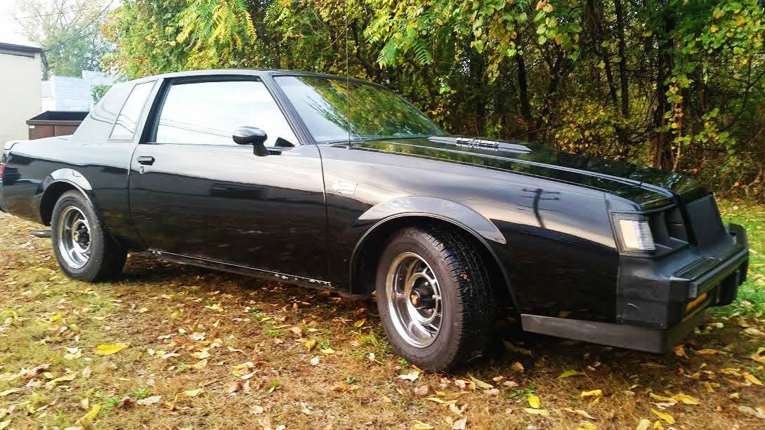 2017 Buick Grand National >> Too Original To Drive: 1987 Buick Grand National