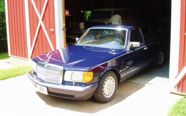 EXCLUSIVE: 1991 Mercedes 350SD