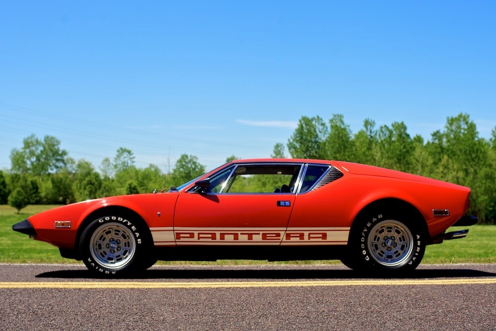 Detomaso Pantera For Sale >> Dusty 1973 De Tomaso Pantera!