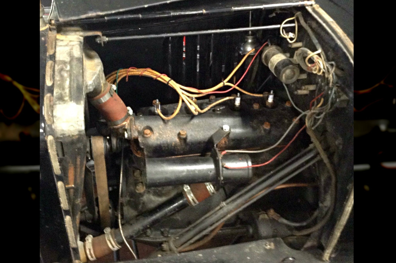 Topless Lizzy 1923 Ford Model T Roadster Wiring Simplistic And Reliable The 4 Cylinder Engine Appears To Have Been Rebuilt At Some Point As Seller Explains Fresh Gaskets Can Be Seen On