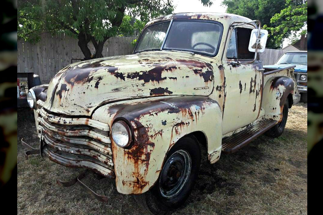 Three Window Project 1948 Chevrolet 3100