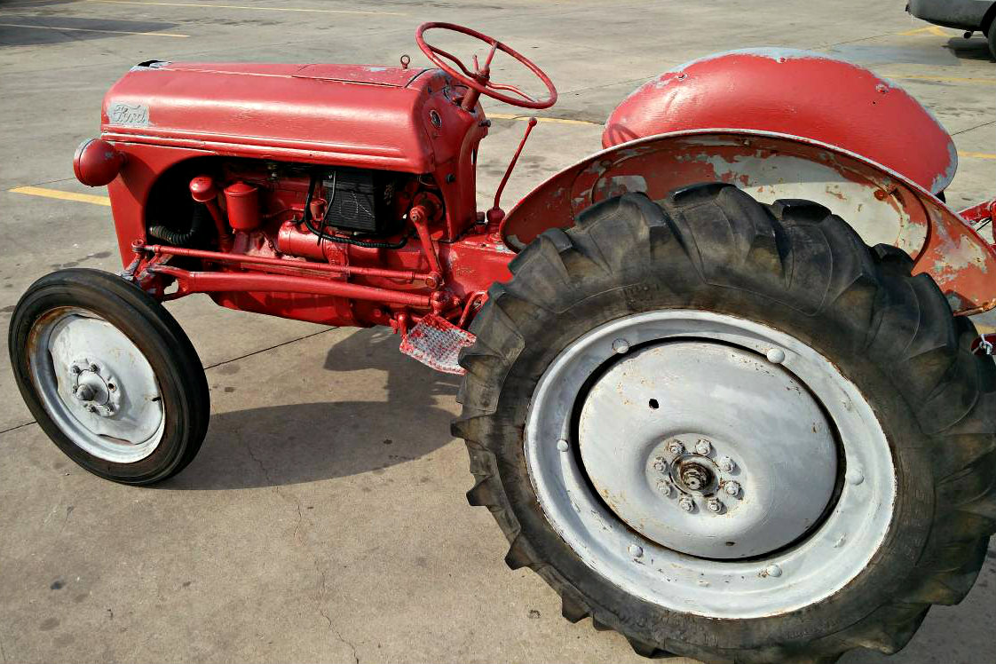 Postwar Farmers Dream 1948 Ford 8n Tractor
