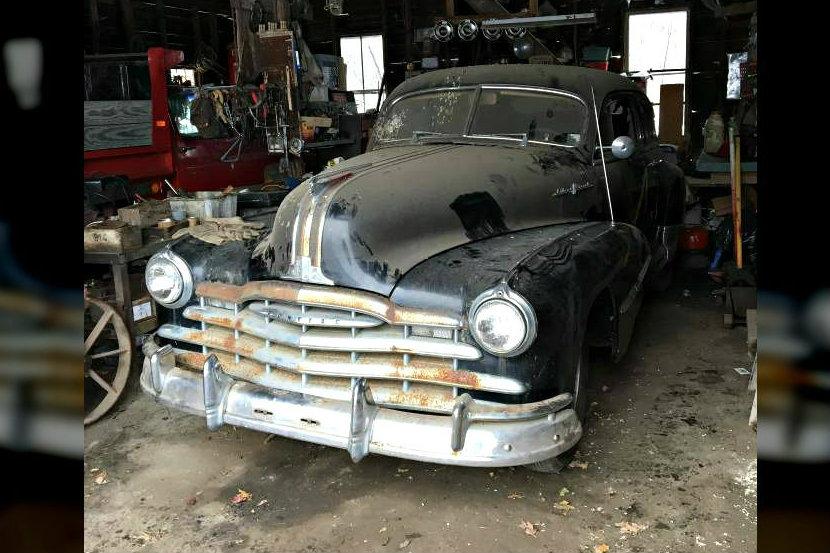 Streamlined Find: 1948 Pontiac Silver Streak