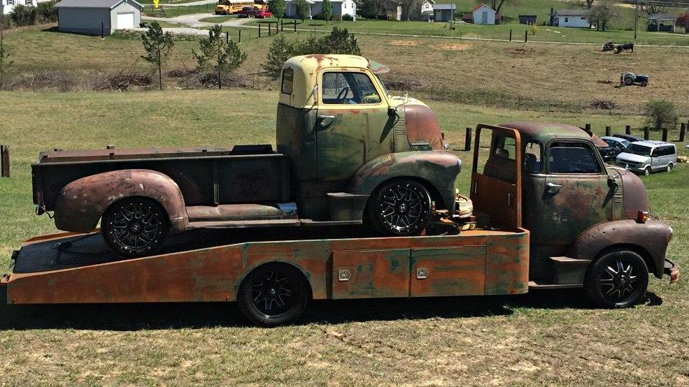 4 Car Hauler >> Restomod Hauler: 1949 Chevrolet COE