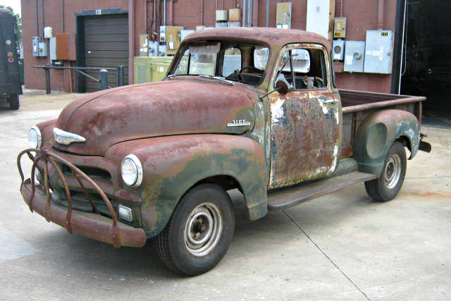 Build Your Own Patina: 1954 Chevrolet Pickup
