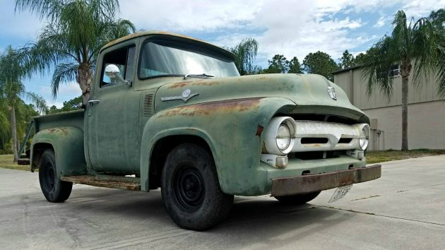 Trucks For Sale In Florida >> Solid Short Bed: 1956 Ford F100