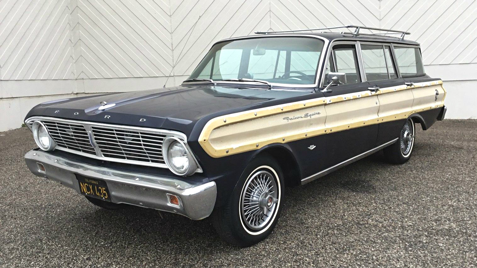 1965 Mustang Station Wagon >> Black Plate Birdy: 1965 Ford Falcon Squire