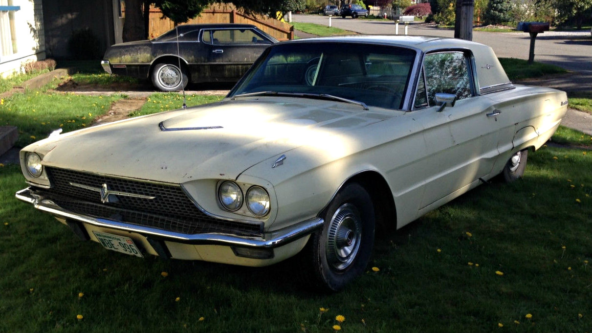 one year only bird  1966 ford thunderbird town hardtop