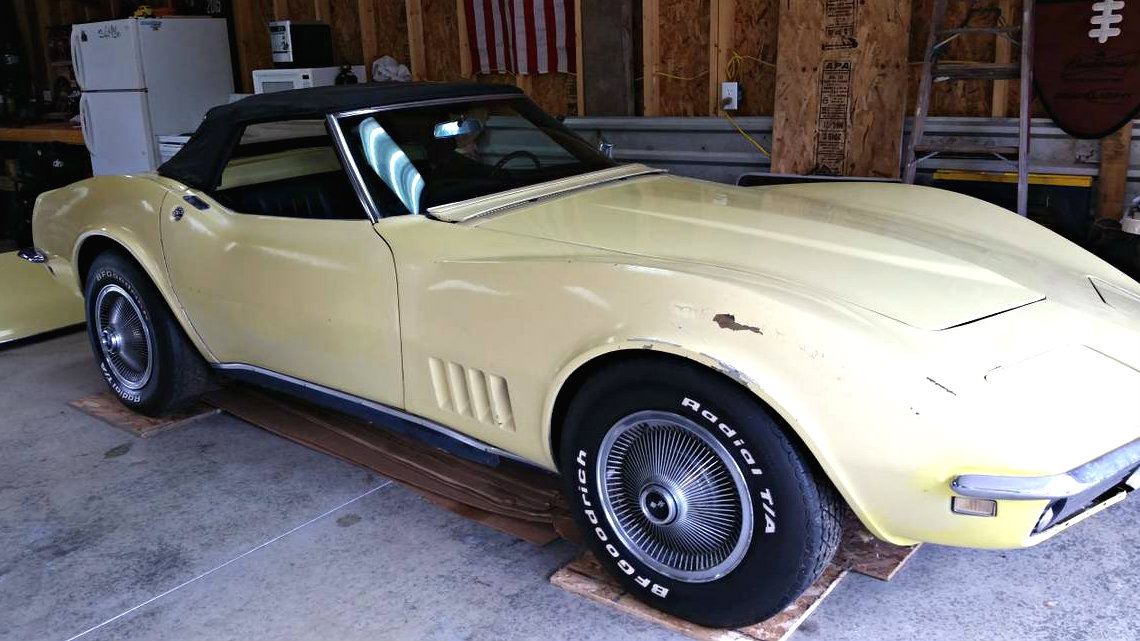 Safari Survivor: 1968 Chevrolet Corvette Convertible