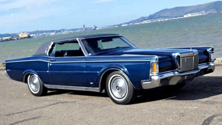 Actor Seeking Work: 1971 Lincoln Mark III