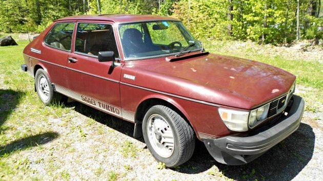 Dreamy Turbo Swede: 1978 Saab 99 Turbo