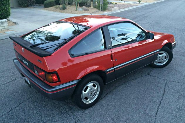History In The Making 1985 Honda Crx Si
