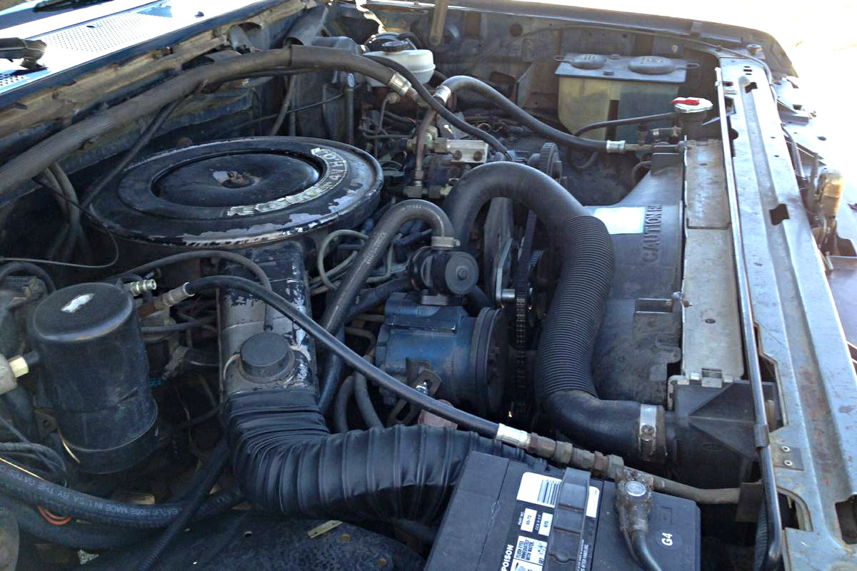 Low mileage 8th gen 1987 ford f 150 xlt lariat for Ford f150 motor options