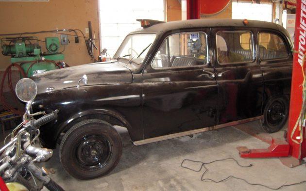 EXCLUSIVE: 1965 Austin FX4 London Taxi