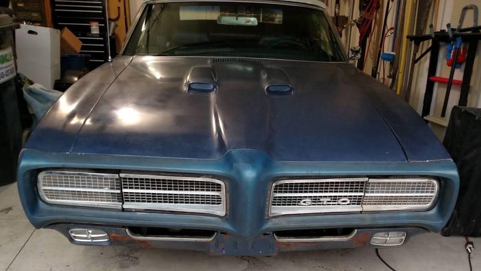1969 Gto Craigslist >> Late Night Run 1969 Pontiac Gto Convertible