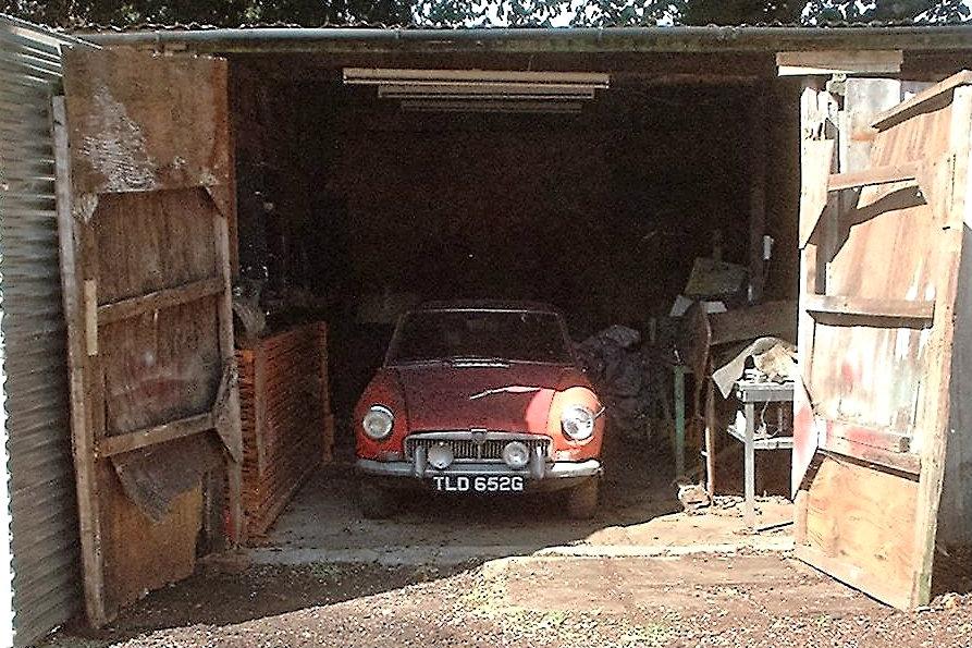 British Barn Find: MGB GT